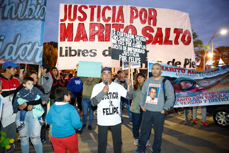 Piden justicia por el crimen de Mario Salto