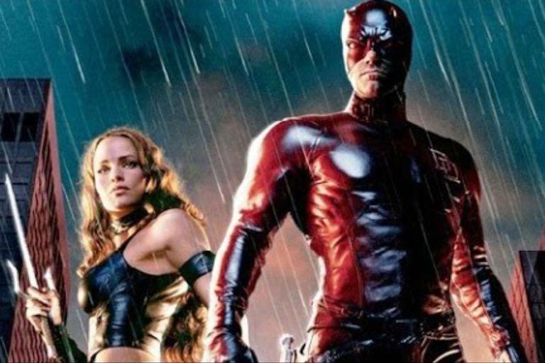 Con su exmarido, Ben Affleck, en Daredevil
