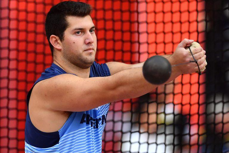 Mundial de atletismo: Joaquín Gómez no pudo avanzar en lanzamiento de martillo