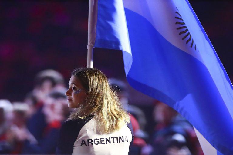 Delfina Pignatiello, la cara saliente de la delegación argentina