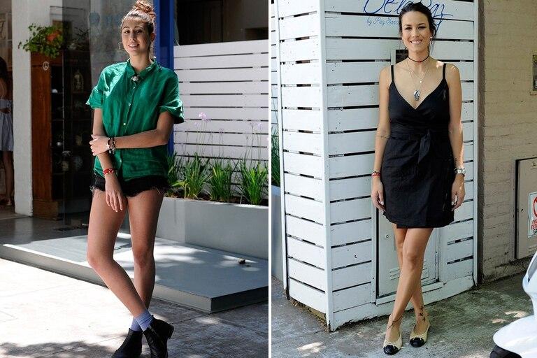 Renata Repetto y Luli Fernández pasaron a conocer la nueva colección de De La Paz