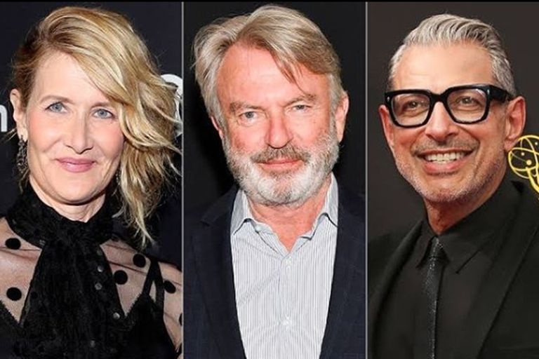 Laura Dern, Sam Neill y Jeff Goldblum vuelven a protagonizar Jurassic World
