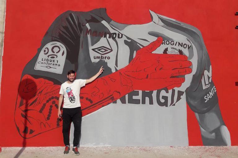 Estadio Emiliano Sala. El emotivo homenaje de Progreso al delantero