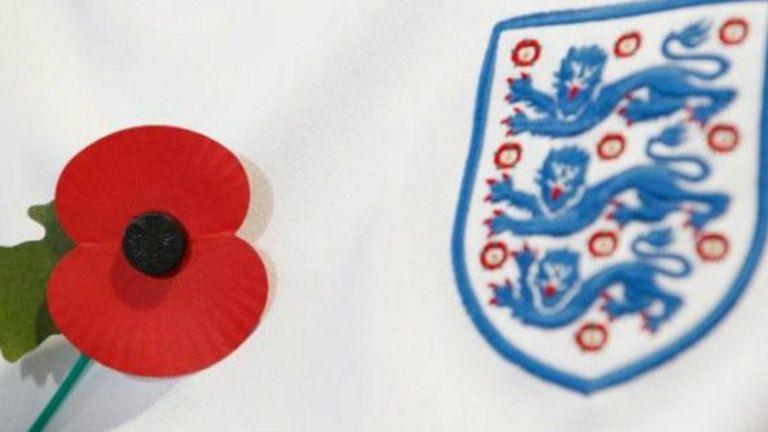 La flor de la discordia: la selección inglesa vestirá una amapola en un partido de eliminatorias