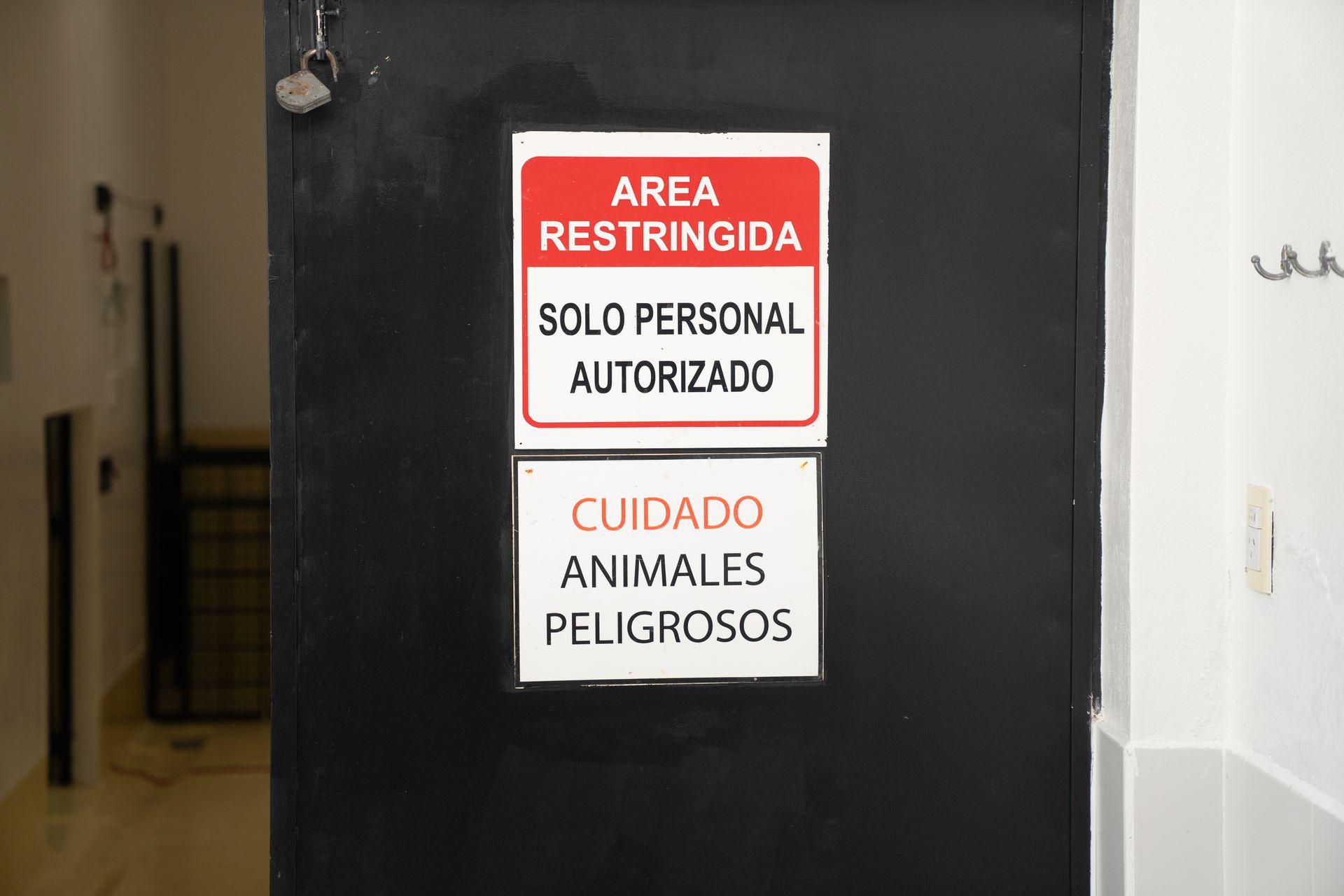 En el laboratorio se preparan las comidas y se cura a los animales.