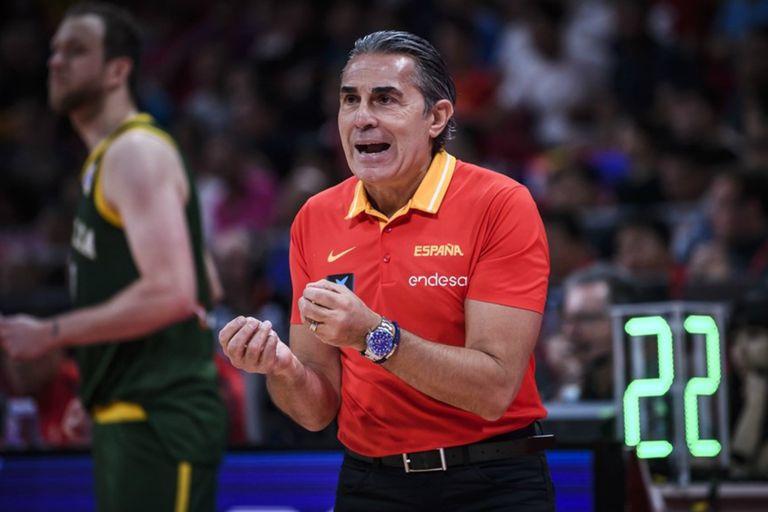 """El coach de España, Scariolo, cree que será """"un partido a cara de perro"""""""