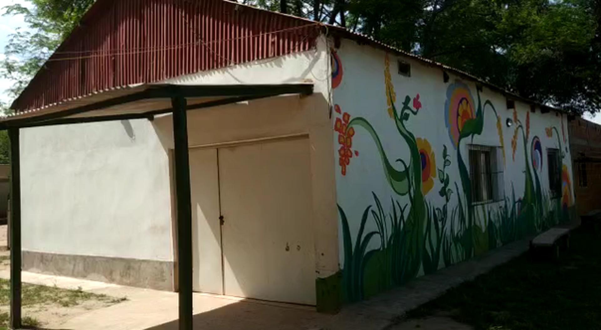 El centro de Montessori en Yacuy junto a Pata Pila.