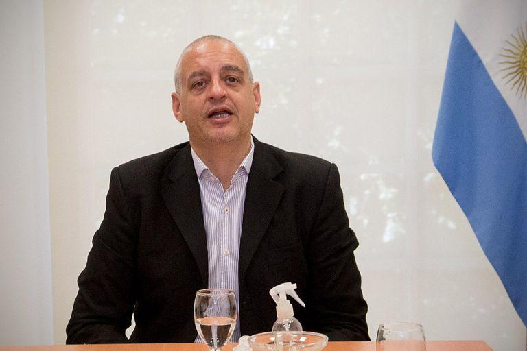 El secretario de Derechos Humanos de la Nación, Horacio Pietragalla