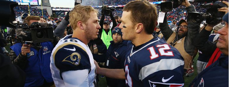 Super Bowl: Goff, el joven que llega bajo la sombra del experimentado Tom Brady