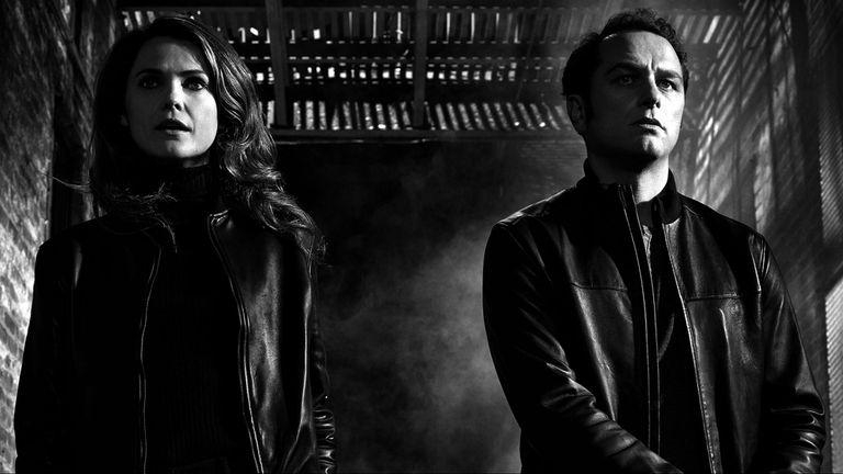 """Los protagonistas de The Americans. Una serie que aún es de las grandes """"tapadas""""."""