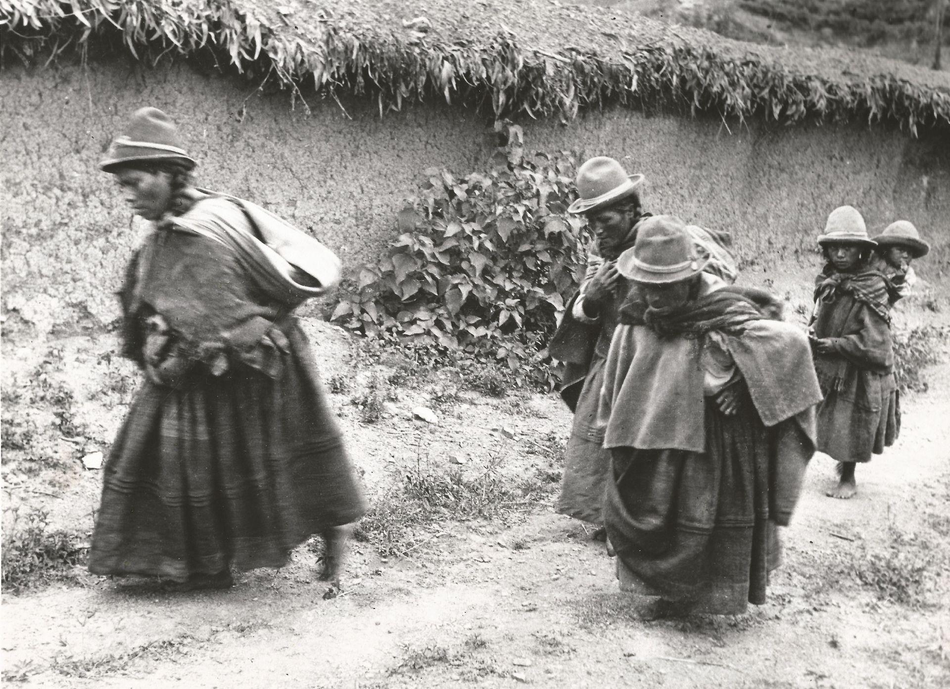 Una de las fotos de Carlota Thumann, de viaje por el Norte.
