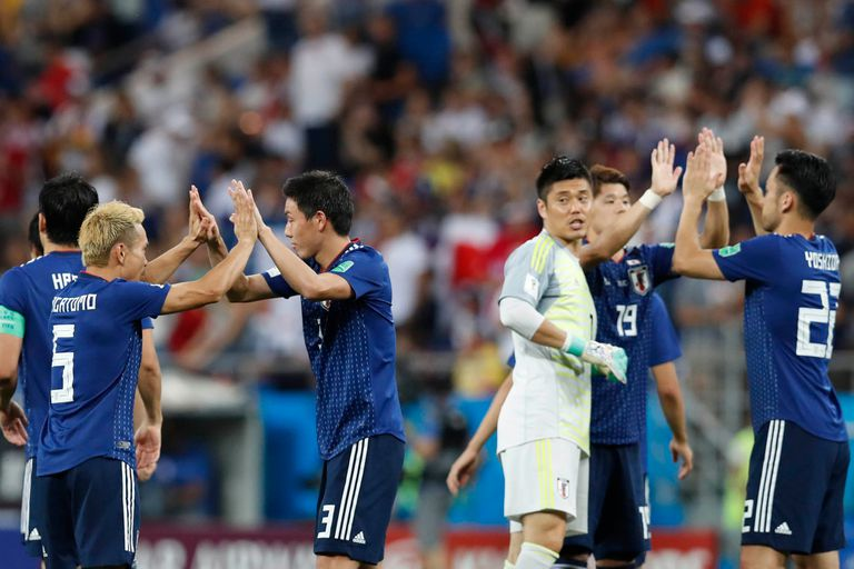 Japón le gana a Bélgica 2-0