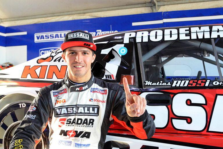 Matías Rossi se quedó con la pole en Viedma