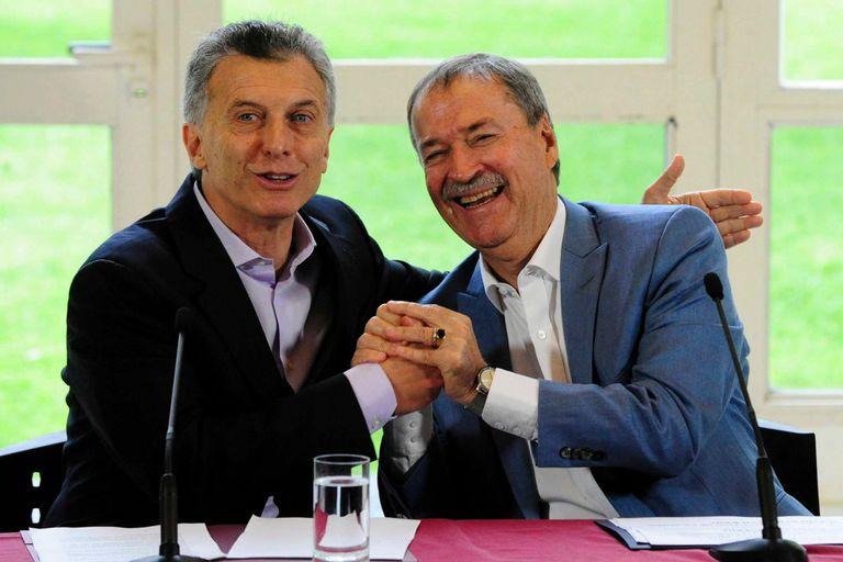Macri y Schiaretti, en uno de sus últimos encuentros