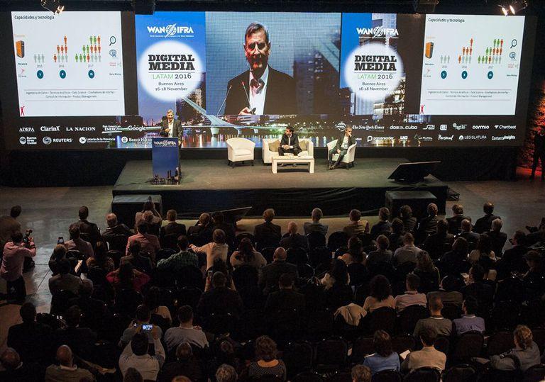 Una vista de una de las charlas del Digital Media Latam 2016