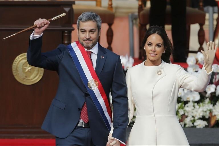 Mario Abdo Benítez es el presidente de Paraguay