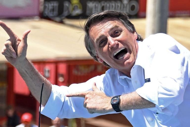 El presidente brasileño Jair Bolsonaro