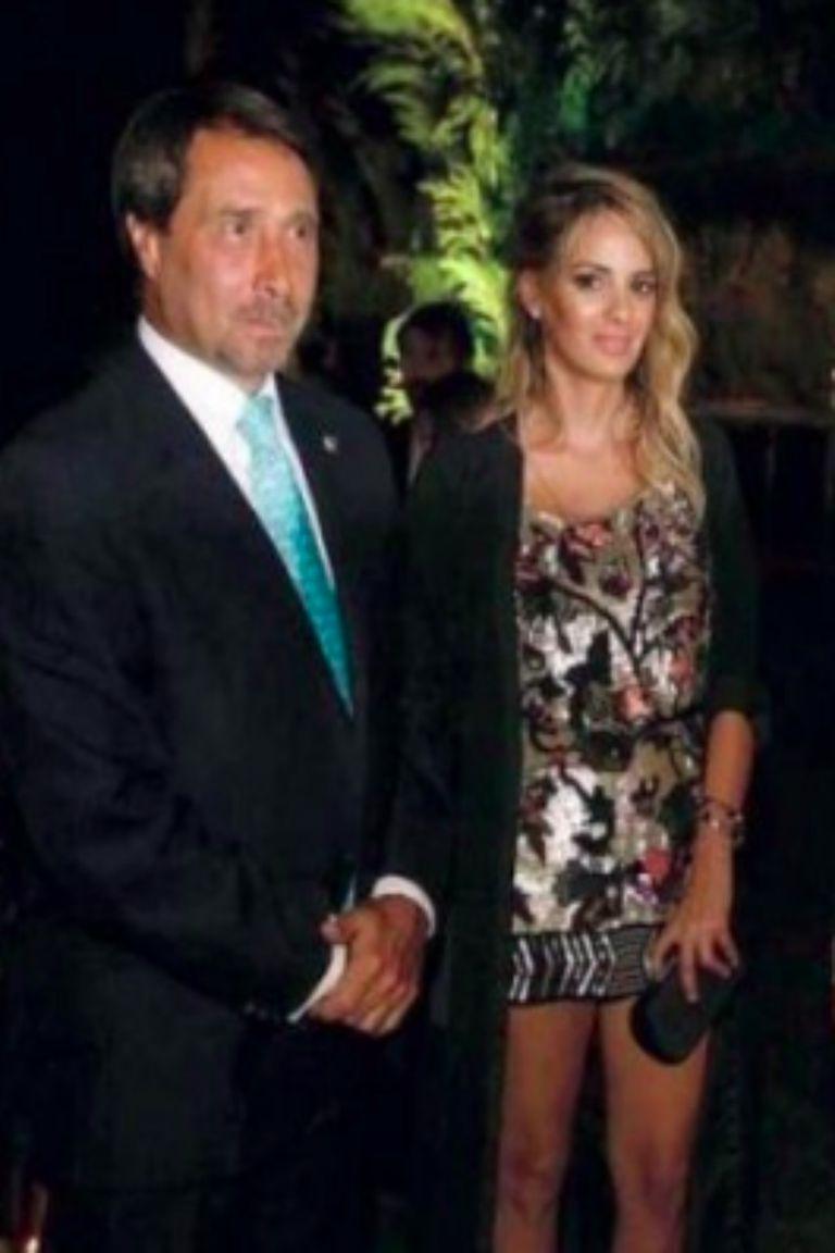 Lucía Auat tiene 35 años y está en pareja con el periodista desde 2017