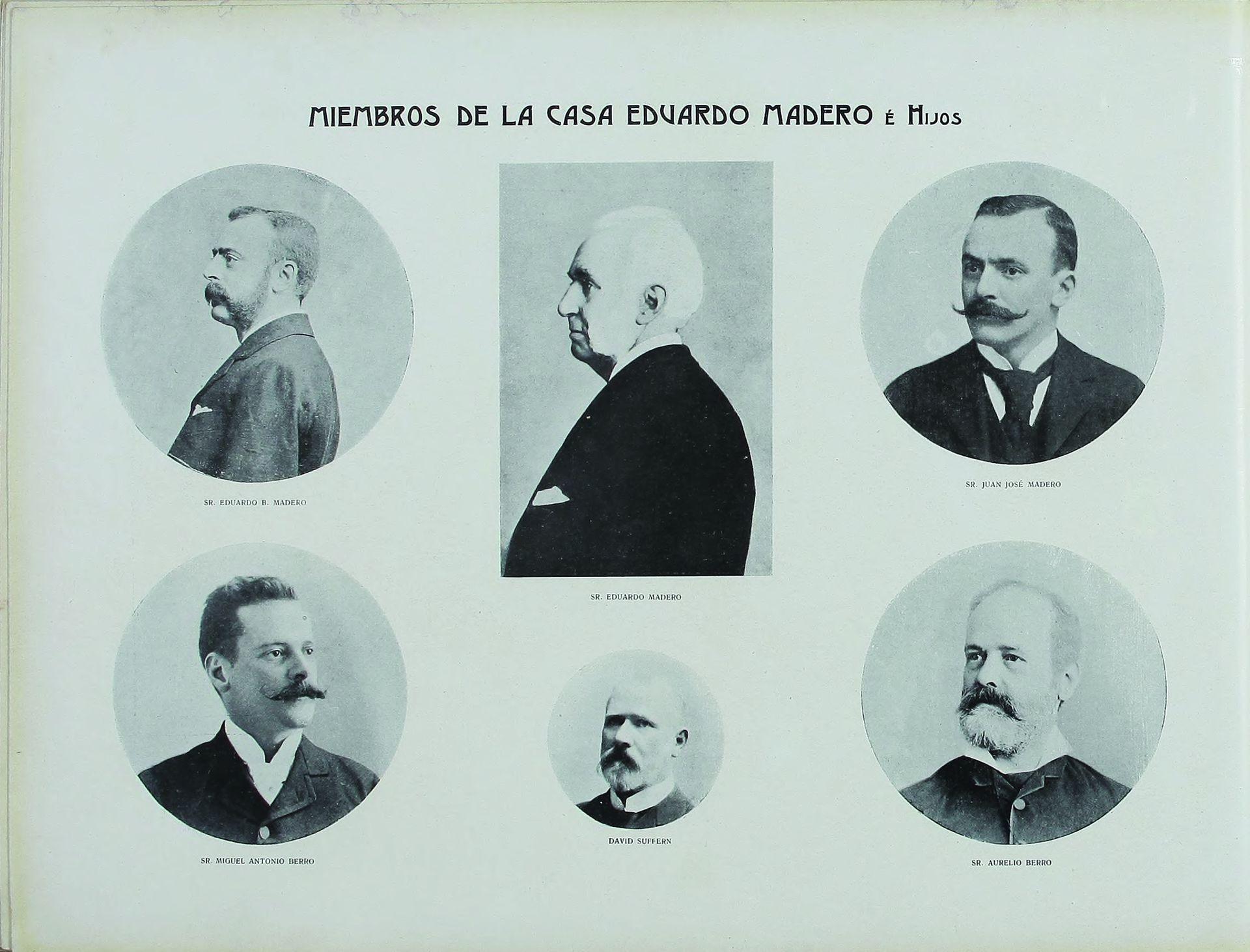 Miembros de la casa Eduardo Madero.