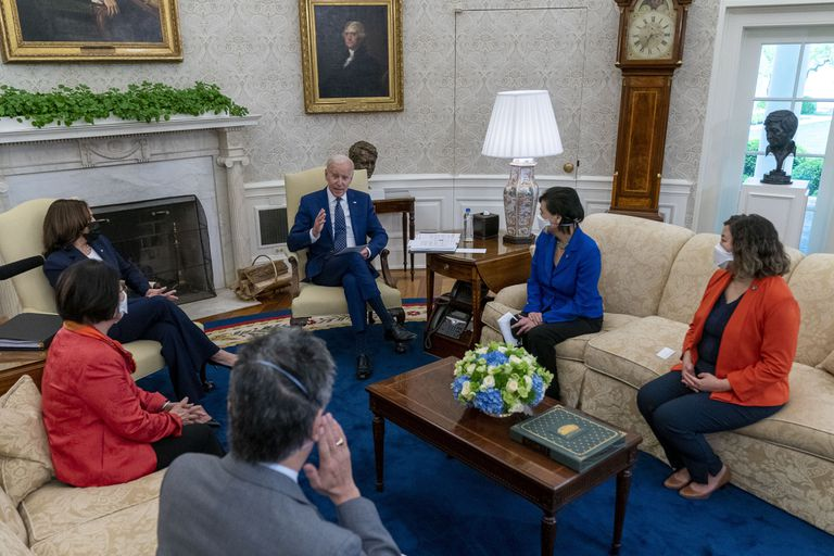 Harris participó de la elaboración de la agenda de gobierno de Biden