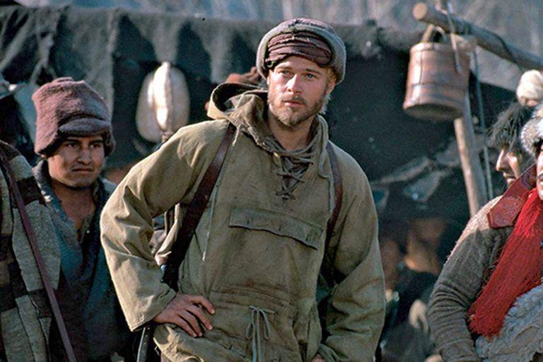 """Un grupo de yaks llegaron a la Argentina para """"actuar"""" en una película de Brad Pitt y de los tejidos de uno de los machos se obtuvieron las células para clonarlo"""