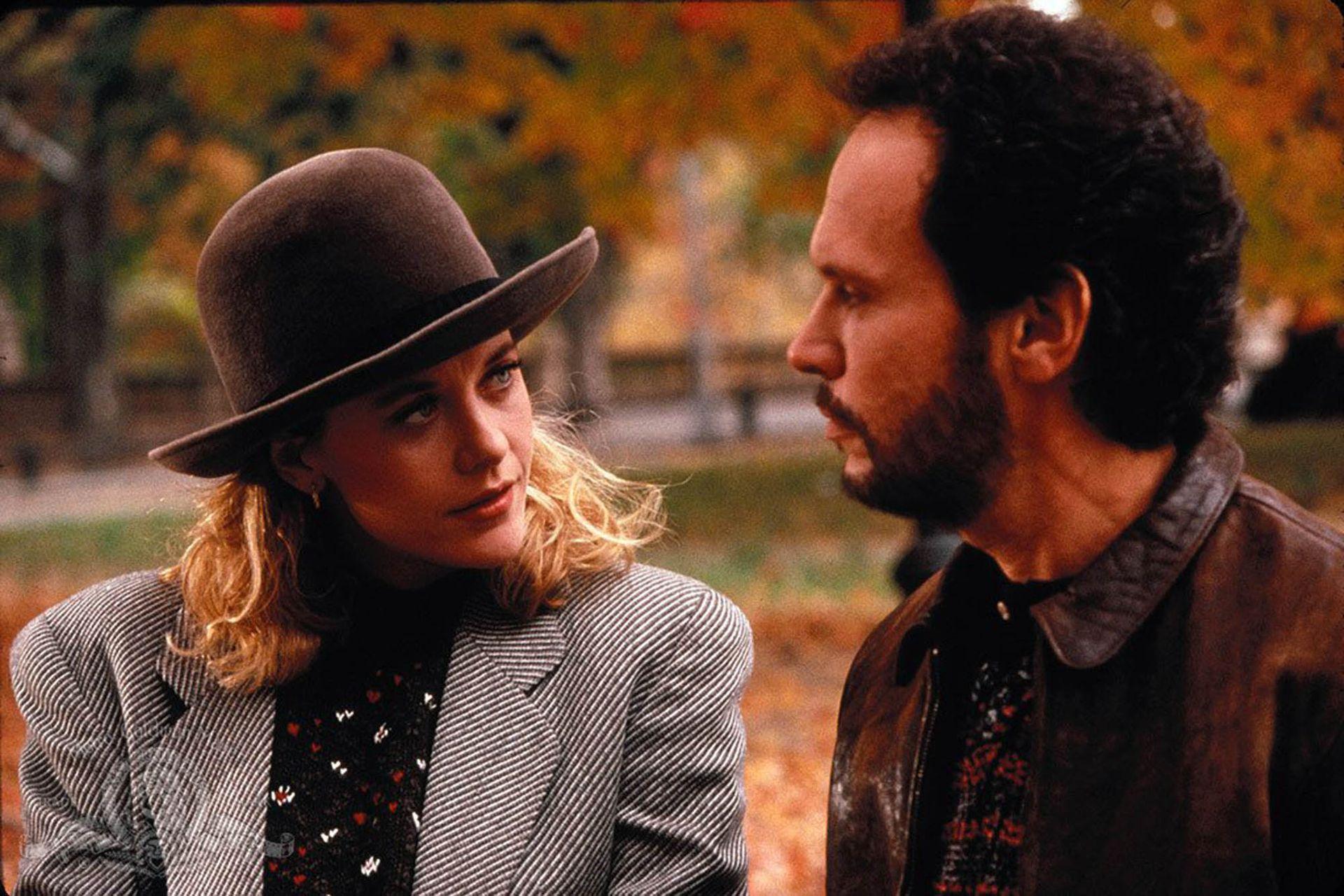 Meg Ryan y Billy Crystal en Cuando Harry conoció a Sally