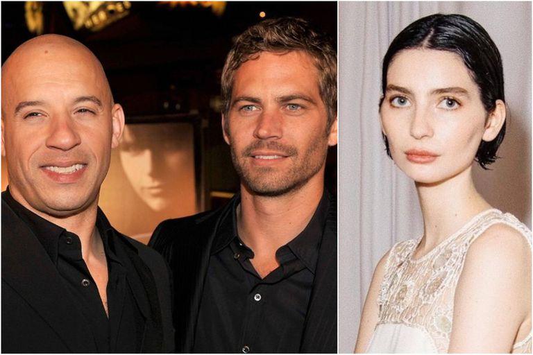 La hija de Paul Walker eligió a Vin Diesel para que la lleve hasta el altar