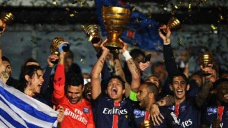 Pastore y Di María, campeones con el PSG