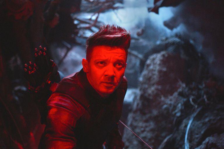 Jeremy Renner como Ronin/Hawkeye, en Avengers: Endgame