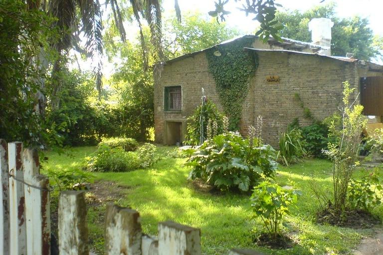 La casa de San Vicente donde fueron robadas sus pertenencias // Foto: Luciano Zito - LUPA FILMS