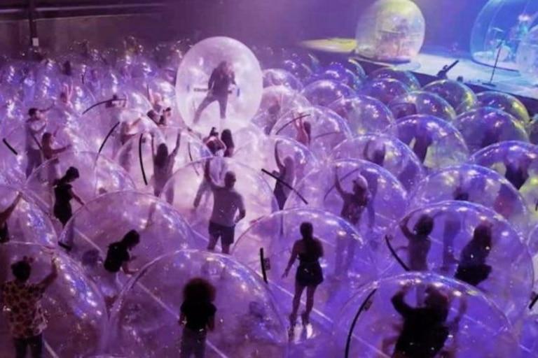 Cada burbuja tiene una capacidad máxima de tres personas