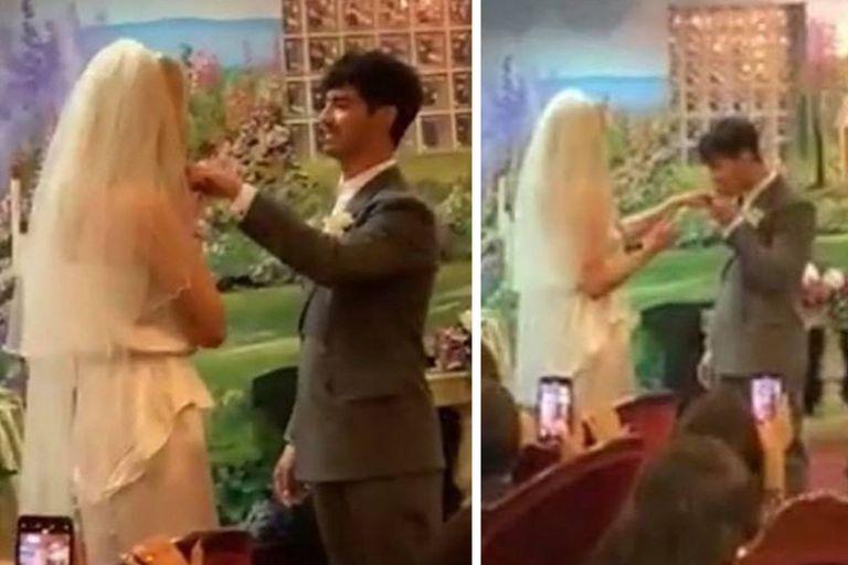 Recién casados. Sophie Turner y Joe Jonas