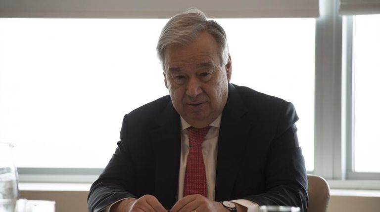 Antonio Guterres, secretario general de la ONU, anunció un plan por 2000 millones de dólares para asistir a las naciones de América latina, Asia y Africa