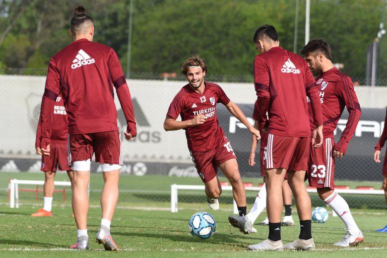 """Sosa se despidió de River para irse a la MLS: """"Le agradecí a Gallardo por todo"""""""