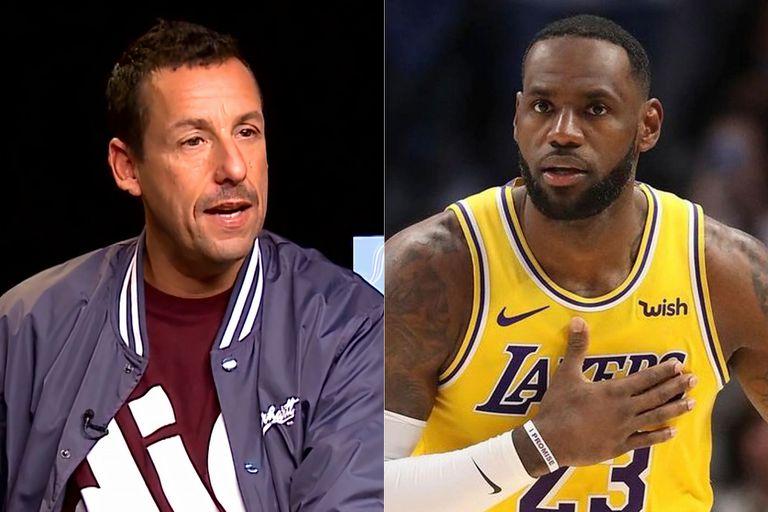 LeBron James y Adam Sandler harán para Netflix una película sobre básquet