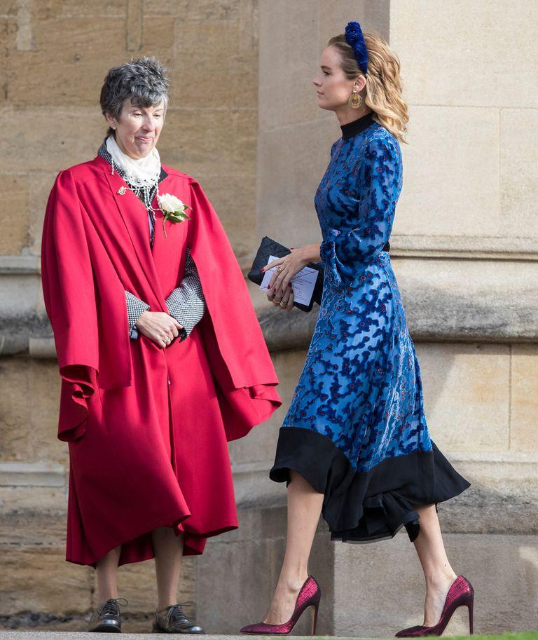 Cressida Bonas -vivió una historia de amor con el príncipe Harry entre 2012 y 2014- compartió colegio con el novio y es muy amiga de la princesa Eugenia.