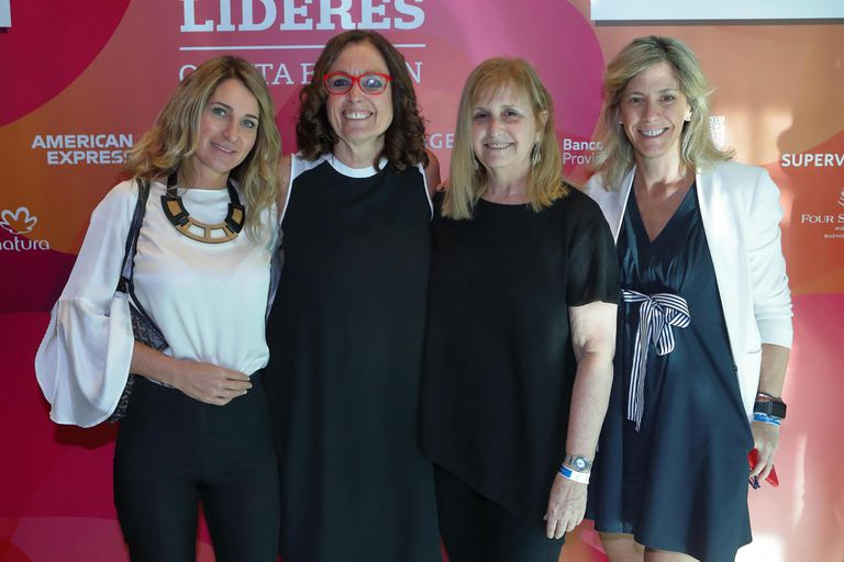 Mariela Mociulsky (Trendsity) Paula Molinari (Whalecom) Andrea Werthein y Ana Cohen (Cohen Sociedad de Bolsa)