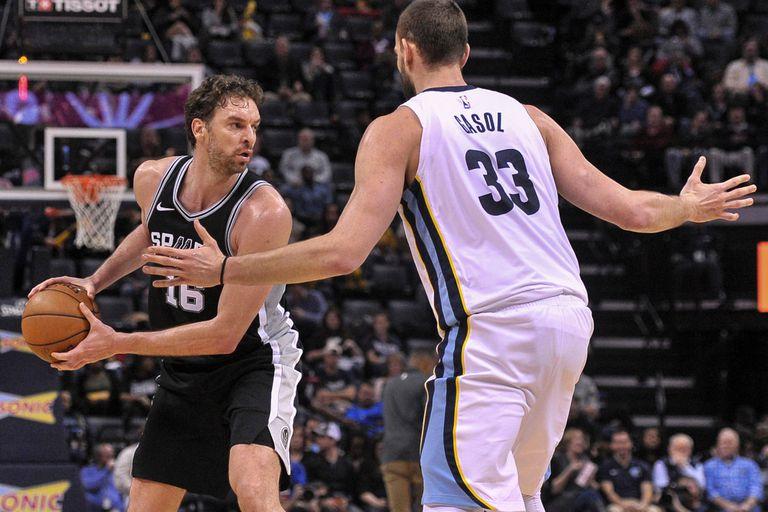 San Antonio Spurs, sin Manu Ginóbili y otras figuras, venció a Memphis