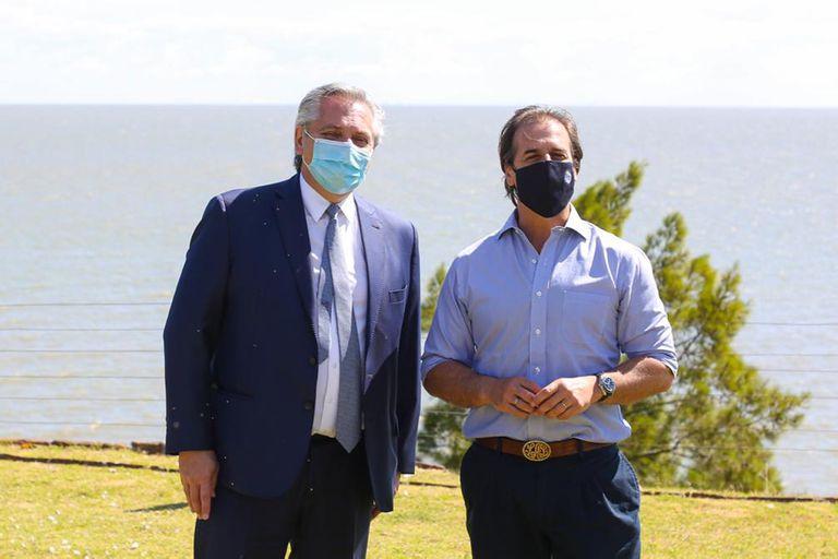 Alberto Fernández protagonizó un cruce con Luis Lacalle Pou por el futuro del Mercosur