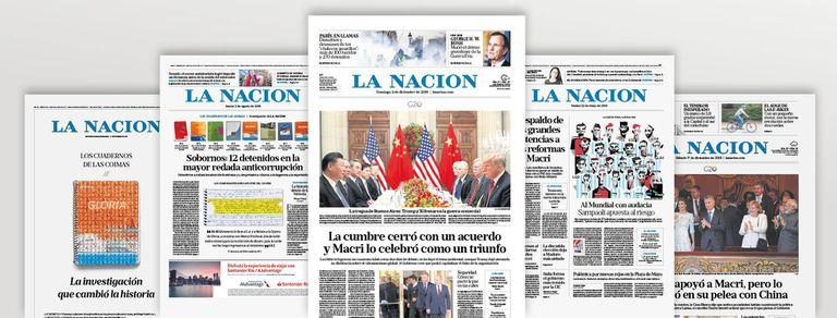LA NACION recibe el premio al diario mejor diseñado del mundo