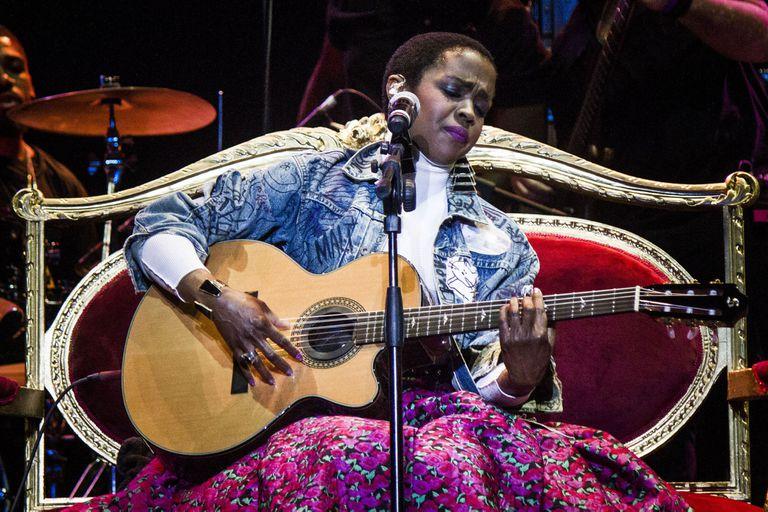 Lauryn Hill en Buenos Aires, en 2016; el 1 de mayo volverá a pisar suelo porteño, esta vez para interpretar completo su laureado y problemático disco solista