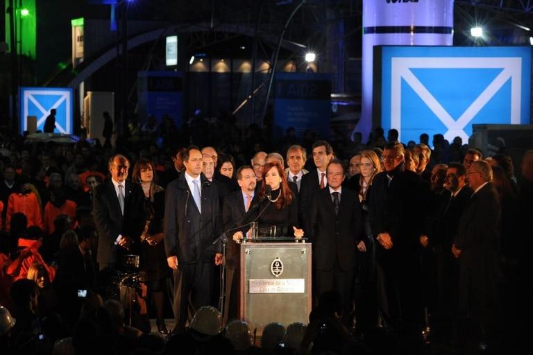 La Presidenta inauguró ayer la muestra