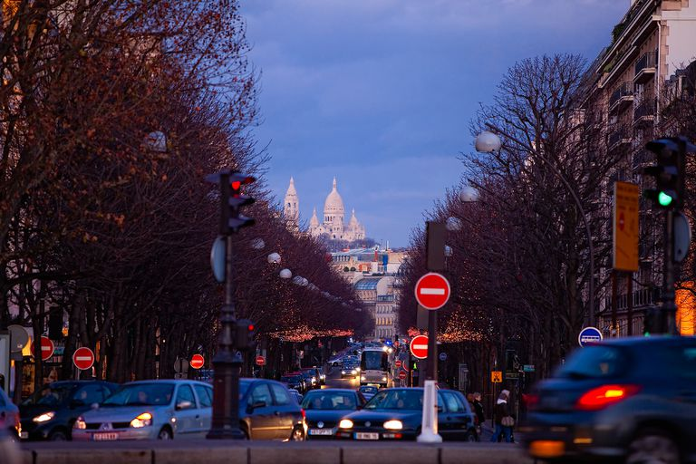 Avenue Montaigne en París