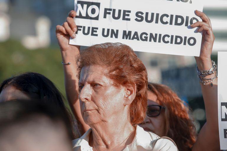 La madre de Alberto Nisman, Sara Garfunkel