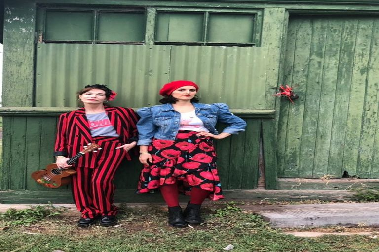 Gloria Carrá y Julieta Díaz cantan juntas: música y amistad