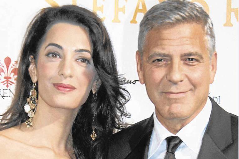 Clooney tiene 59 años y Amal Alamuddin, 42