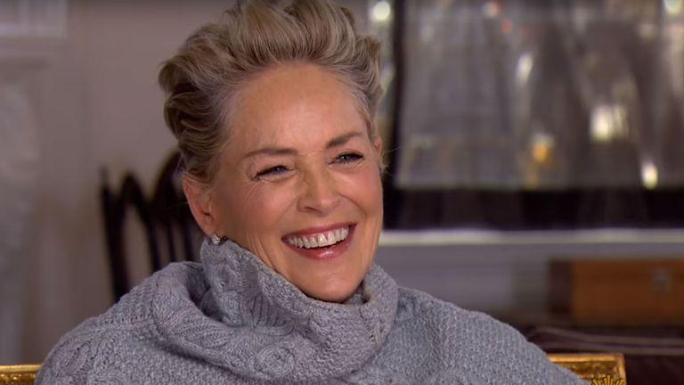La reacción de Sharon Stone ante la pregunta de si alguna vez vivió un abuso