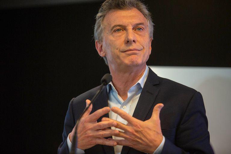 El expresidente de la Nación Mauricio Macri