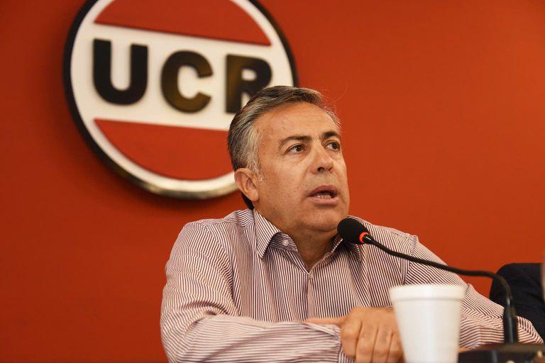 En un comunicado que firmó Alfredo Cornejo, el partido criticó que la Casa Rosada no tomara medidas frente a las declaraciones polémicas del expresidente de Bolivia