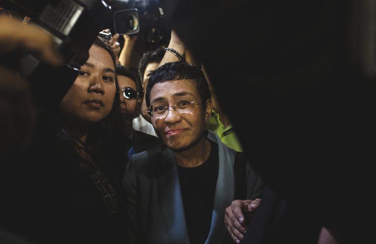"Maria Ressa: ""No soy una criminal, soy periodista"""